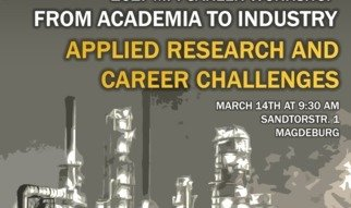 Are you curious about switching from academia to industry after your Ph.D.? Do you want to engage in conversations with people that took this challenge? Do you want to find out more hands-on experience about different career pathways in industry?The MPI Industry Career Workshop on 14th March 2017 was organized by the Ph.D. representatives at the Max Planck Institute Magdeburg and the SIAM Student Chapter.