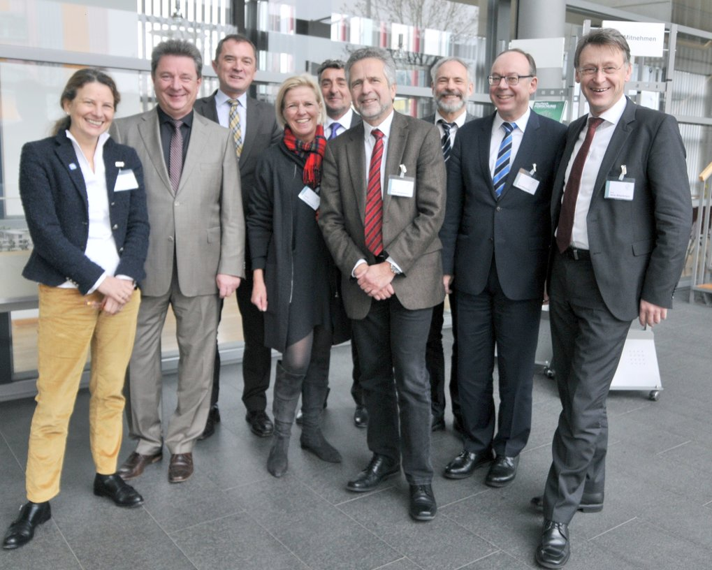 <p><strong>Members of the Board of Trustees<br /></strong>from left to right: Dr. Eva E. Wille, Dr. Lutz Trümper, Marco Tullner,  Dr. Ingrid Wünning Tschol, Dr. Gunnar Schellenberger, Prof. Kurt Wagemann, Prof. Andreas Schuppert, Dr. Ralf Pfirmann, Prof. Jens Strackeljan<br />not shown in the picture: Hartmut Augustin, Dr. Claas-Jürgen Klasen</p>