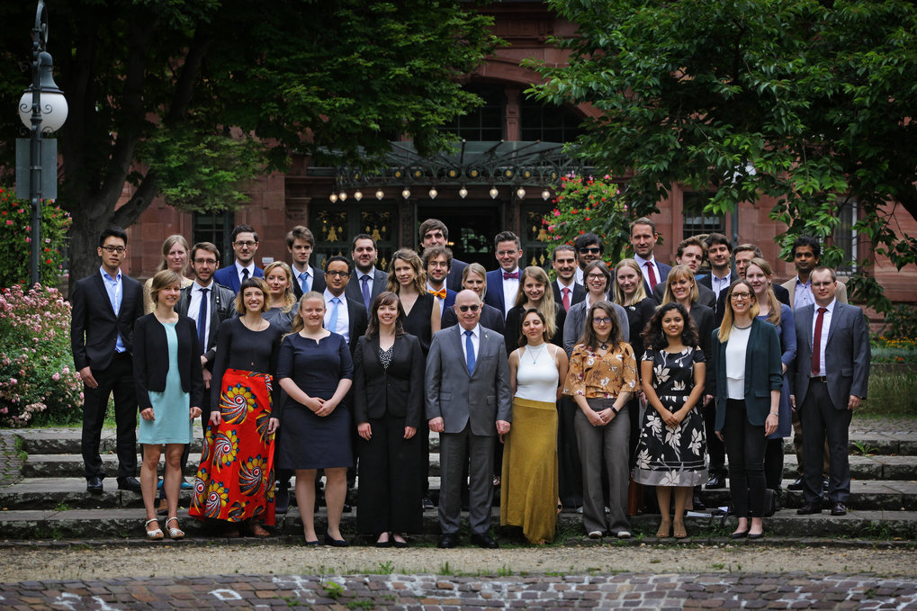 36 yong scientists have been honoured for their outstanding scientific achievements during the general meeting in Heidelberg.