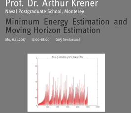 Magdeburg Lectures on Optimization and Control: Minimum Energy Estimation and Moving Horizon Estimation