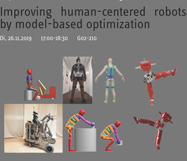 Magdeburg Lectures on Optimization and Control: Improving human-centered robots by model-based optimization